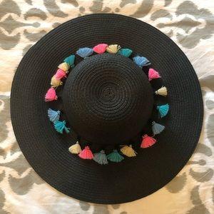 Nicole Marciano Straw Beach Hat